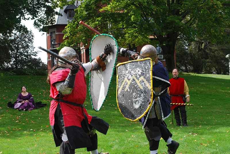 Argus Erikson fighting Heavy List at Harper's Retreat