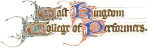 East Kingdom College of Performers Logo