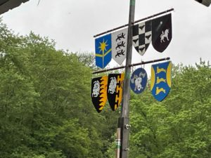 Image of the shields on the list tree