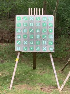 King's and Queen's Tournament Target
